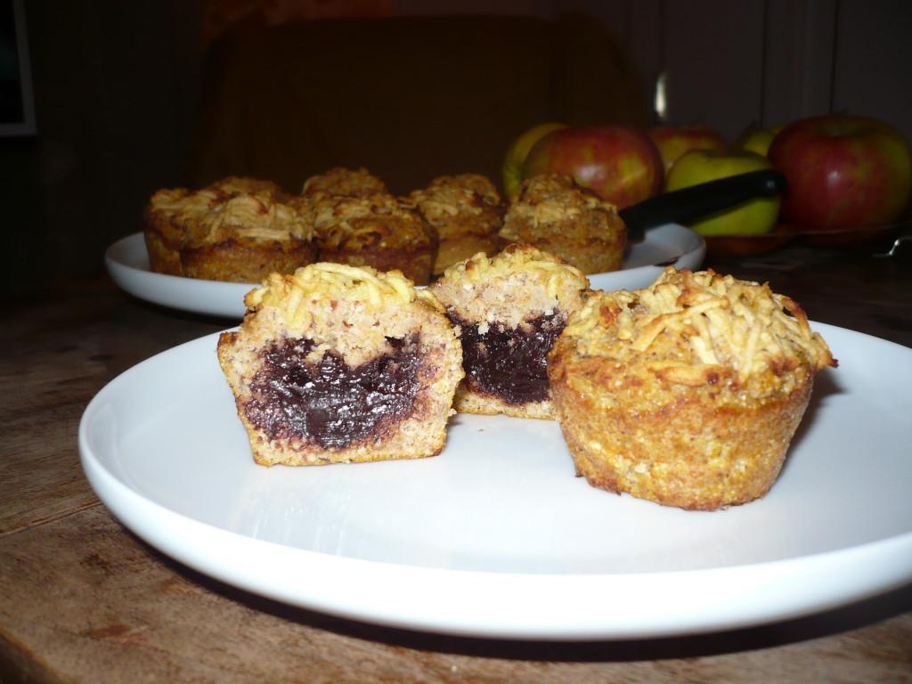 Sütőtökös-csokis muffin