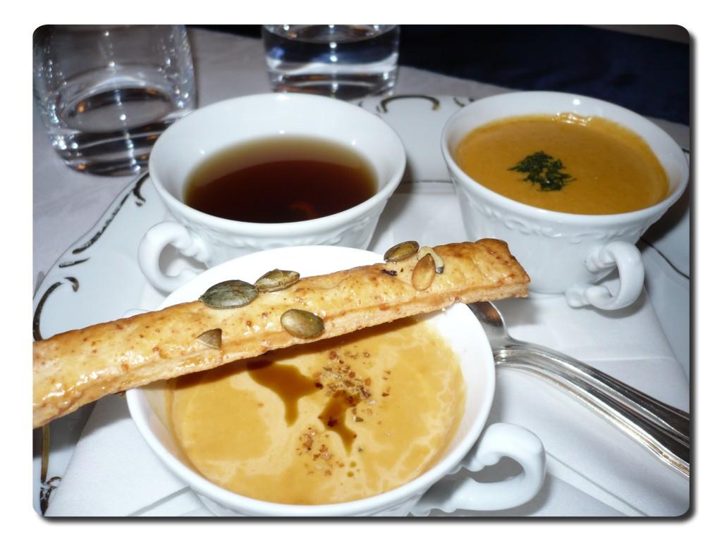 Az én leves-válogatásom - a sós rúd csak a fotó kedvéért maradt... :-)